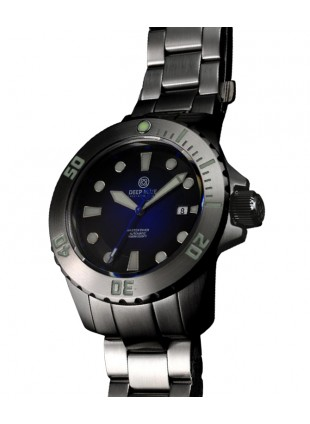 DEEP BLUE MASTER DIVER AUTOMATIC 316L STAINLESS STEEL CASE - BLUE DIAL