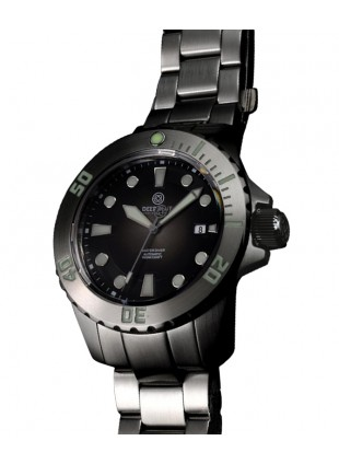 DEEP BLUE MASTER DIVER AUTOMATIC 316L STAINLESS STEEL CASE – GREY DIAL