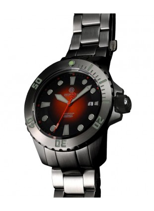 DEEP BLUE MASTER DIVER AUTOMATIC 316L STAINLESS STEEL CASE - ORANGE DIAL