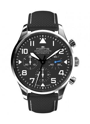 Fortis Aviatis PILOT CLASSIC CHRONOGRAPH 41mm Swiss Automatic watch 904.21.41