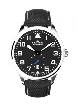 Fortis Aviatis PILOT CLASSIC SECOND 40mm Swiss Automatic Date watch 901.20.41