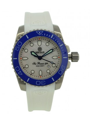 DEEP BLUE LADY BLUE SEA RAMIC MOP DIAL COLLECTION
