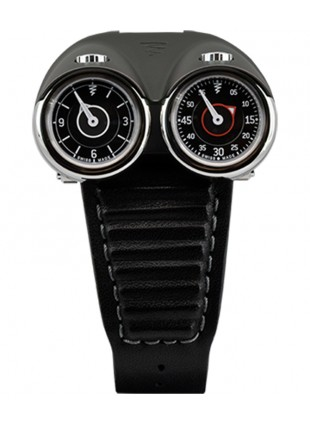 Azimuth TWIN TURBO mechanical watch Racing car theme 2 T/Zones Anthracite bonnet