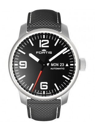 Fortis Cosmonautis SPACEMATIC STEEL 40mm Automatic Swiss ETA watch