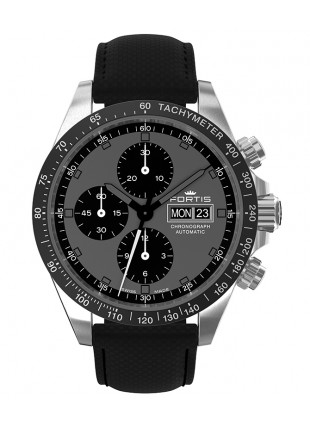 Fortis Cosmonautis STRATOLINER ALL BLACK Automatic 42mm Chrono watch