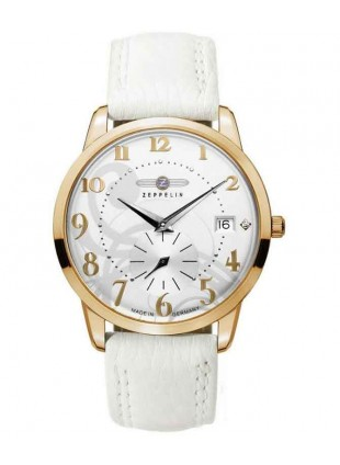 Zeppeiin Flatline Ladies PVD Gold watch 7339-1