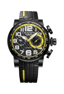 GRAHAM SILVERSTONE STOWE RACING CHRONO 48HR POWER RESERVE 2BLDC.B28A.K66N