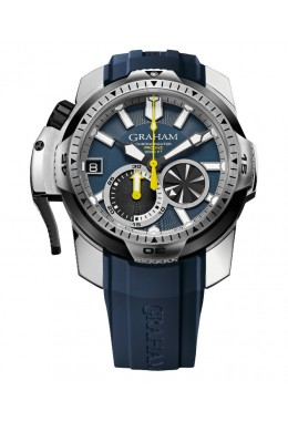 GRAHAM CHRONOFIGHTER PRODIVE WATCH 600m 2000ft WR 48hr PWR RES 2CDAV.U01A.K87F