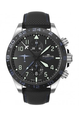 Fortis Aviatis DORNIER GMT Auto Swiss Chronograph 42mm aviation watch 402.35.41