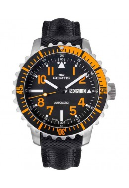 FORTIS Aquatis Marinemaster Swiss Auto Day/Date watch 200m WR 42mm 670.19.49 LP