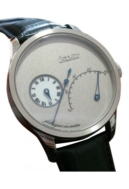 AZIMUTH REGULATEUR RETROGRADE MINUTES RRM WATCH ETA 2824-2 AUTO FROST GREY DIAL