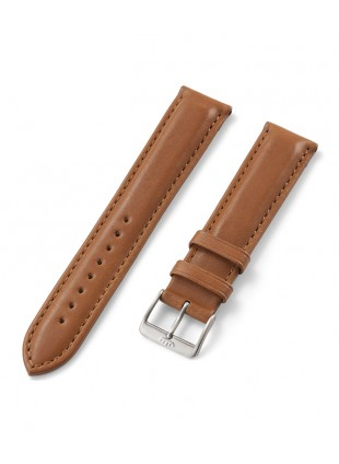 FORTIS Leatherstrap Barenia with pin buckle brushed 99.121.2840.010